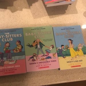 The baby-sitters club books.